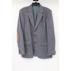 Vintage Farrah sport coat gray two button mens 40L